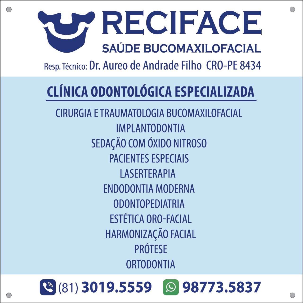 Reciface odontologia