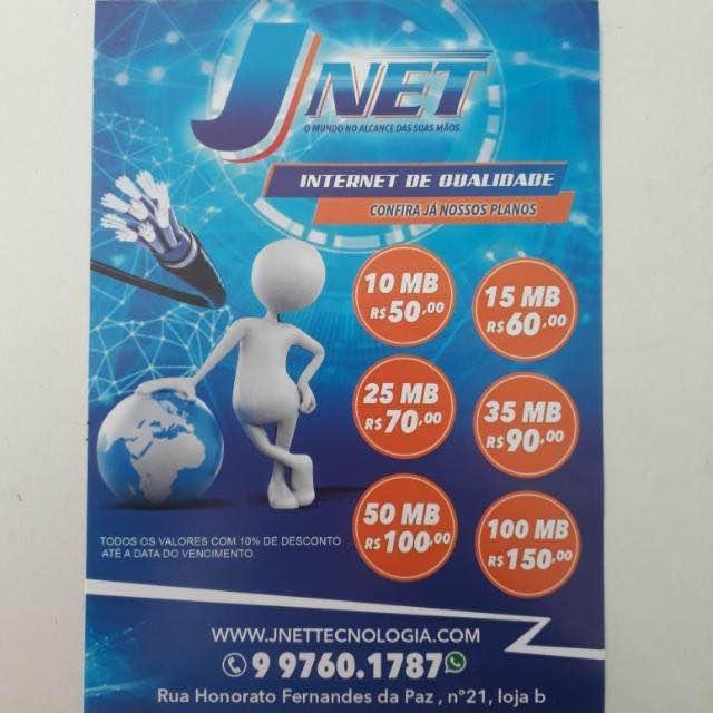 Tecnologia em Internet JNET