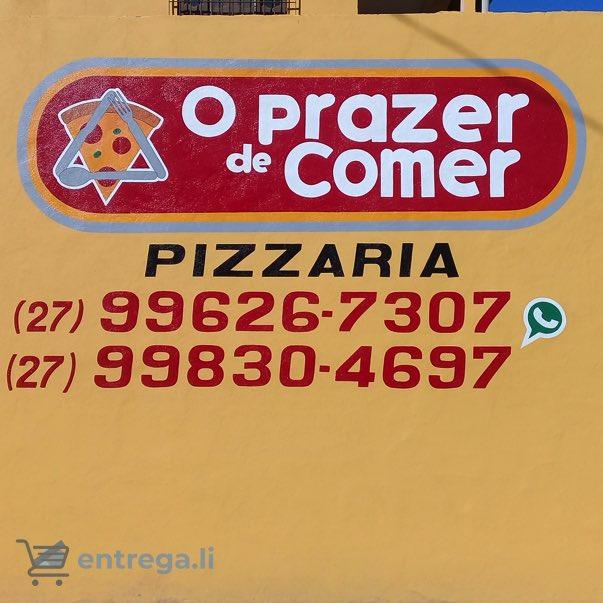 O Prazer de Comer - Pizzaria