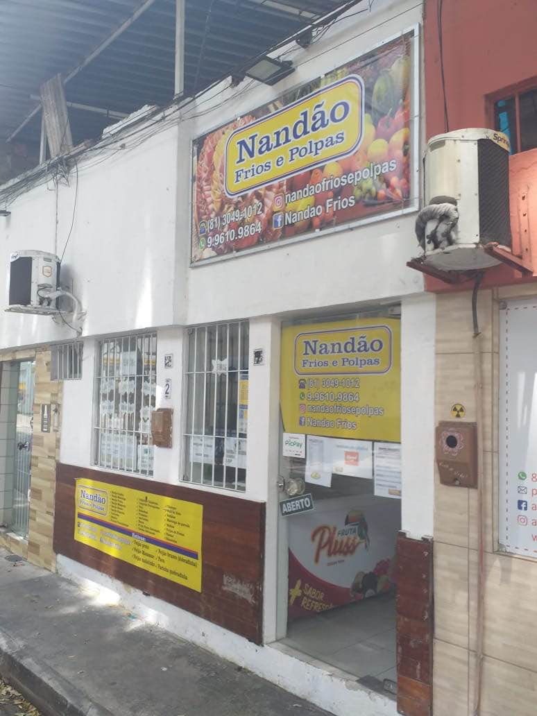 NANDÃO FRIOS E POLPAS